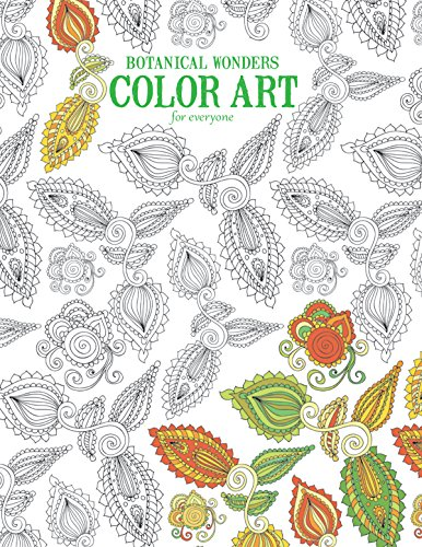 Botanical Wonders: Color Art for Everyone