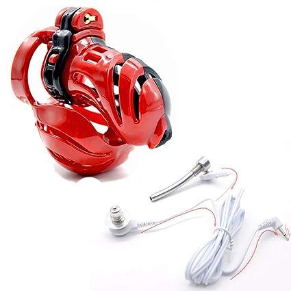 G-XQ Cinturón de castidad Jaula de martillo de plástico ...