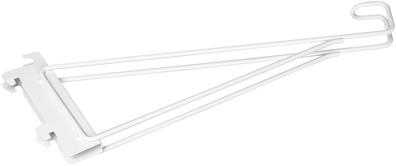 Rubbermaid Configurations Custom Closet Shoe Bracket, White, 1807649