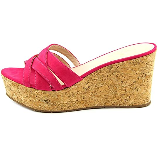 Amazon.com: Kate Spade New York Womens Talcott Deep Pink Nubuck Sandal:  Shoes