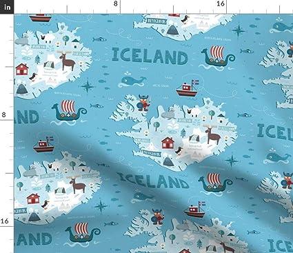 Spoonflower Iceland map Fabric - Illustrated Maps Iceland Viking World on western samoa world map, kazakhstan world map, panama world map, faroe islands, lesotho world map, sri lanka world map, united kingdom, new zealand, japan world map, indonesia world map, ireland world map, antartica world map, scotland world map, germany world map, india world map, british isles world map, cape verde world map, south korea world map, austria world map, guam world map, ceylon world map, norway world map, haiti world map,