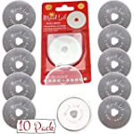 45mm Rotary Cutter Blades 10 pcs in p...