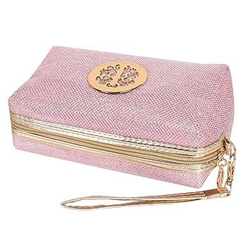 34d45b2b11 Amazon.com : Glitter Travel Cosmetic Bag Women Fashion Multifunction ...