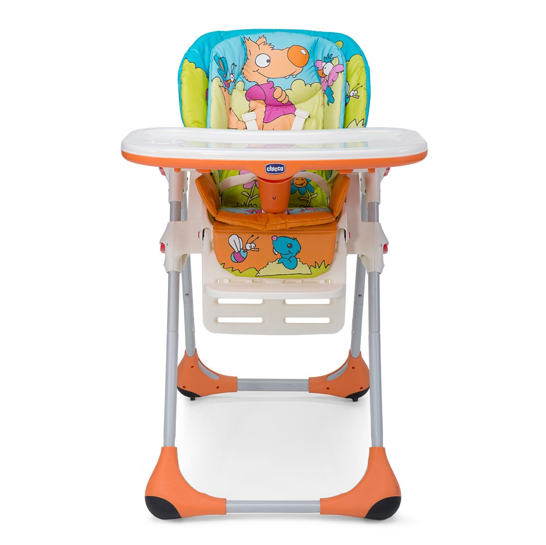 Buy Chicco New Polly 2 In 1 Friends Wood Chair Online At Low Prices In  India   Amazon.in