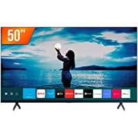 "Smart TV Samsung LED 50"" 4K UHD Crystal TU7020, Bivolt, Visual Livre de Cabos, Bluetooth, 2 HDMI, 1 USB"