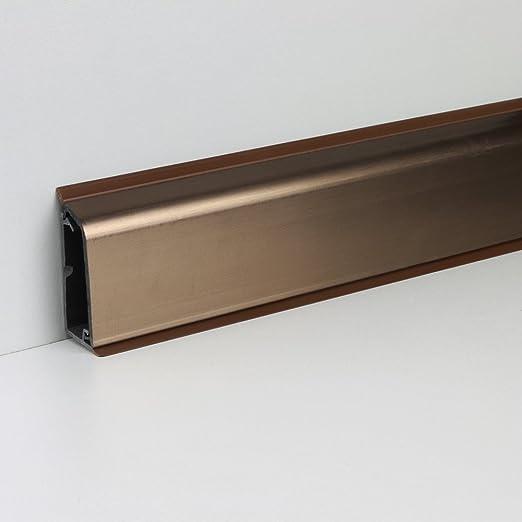 Wandanschlussprofil Leiste f/ür die K/üchen-Mehrzweckplatte mit Kabelkanal 50 x 600 mm Wei/ß