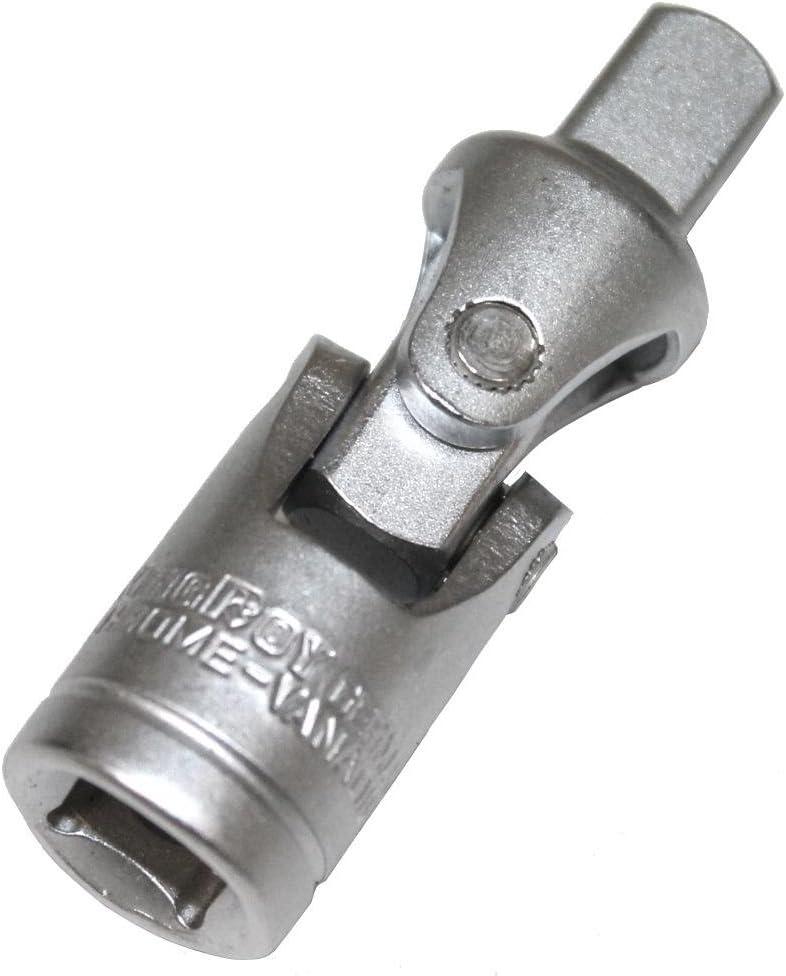 Aerzetix Lot de 5 Cardan 3//8 pour cl/é /à cliquet douilles ratchet racagnac adaptateur dangle droit