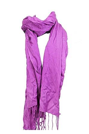 b57845bd11e34 Macys New Purple Lightweight Oversized Pashmina Msrp $24 at Amazon ...