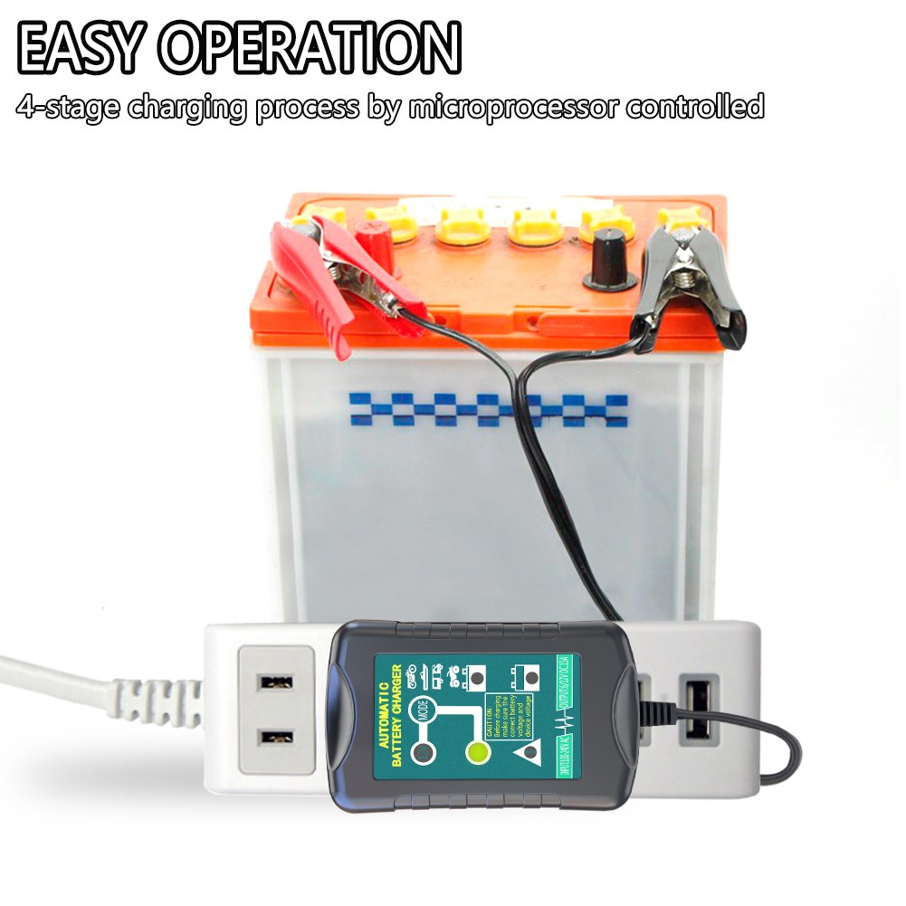Lst Trickle Battery Charger Automatic Maintainer 6v 12v Portable Details About 2v Sealed Leadacid Sla Mains Smart Float For Auto Car Motorcycle Lawn Mower Atv Agm Gel Cell Lead Acid Batteries