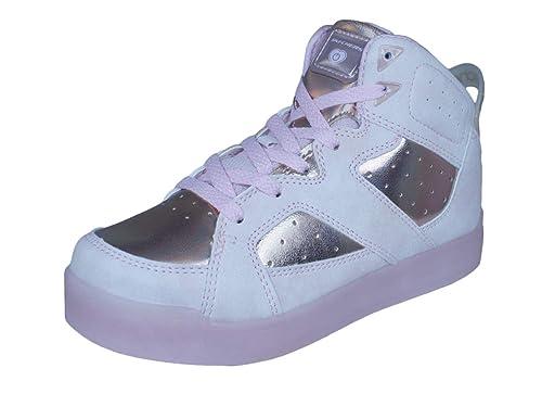 Kids Girls Skechers Energy Lights E Pro II Lavish Lights