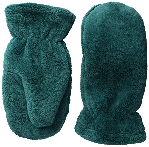 White Sierra Women's Cozy Reversible Mittens, Pacific/Ecru Olive, One Size