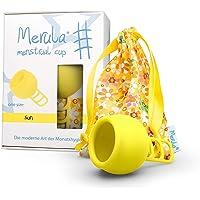 Merula Cup sun (gelb) - One size Menstruationstasse aus medizinischem Silikon