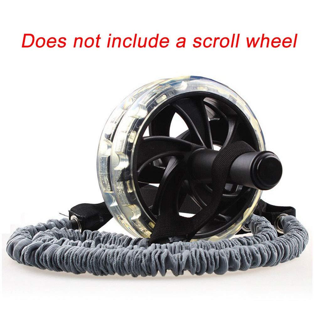 pr/áctica Fitness estiramiento rueda gimnasio cuerdas ejercicio tirar accesorios 1 par de Cuerdas el/ásticas para Ejercicios Abdominales