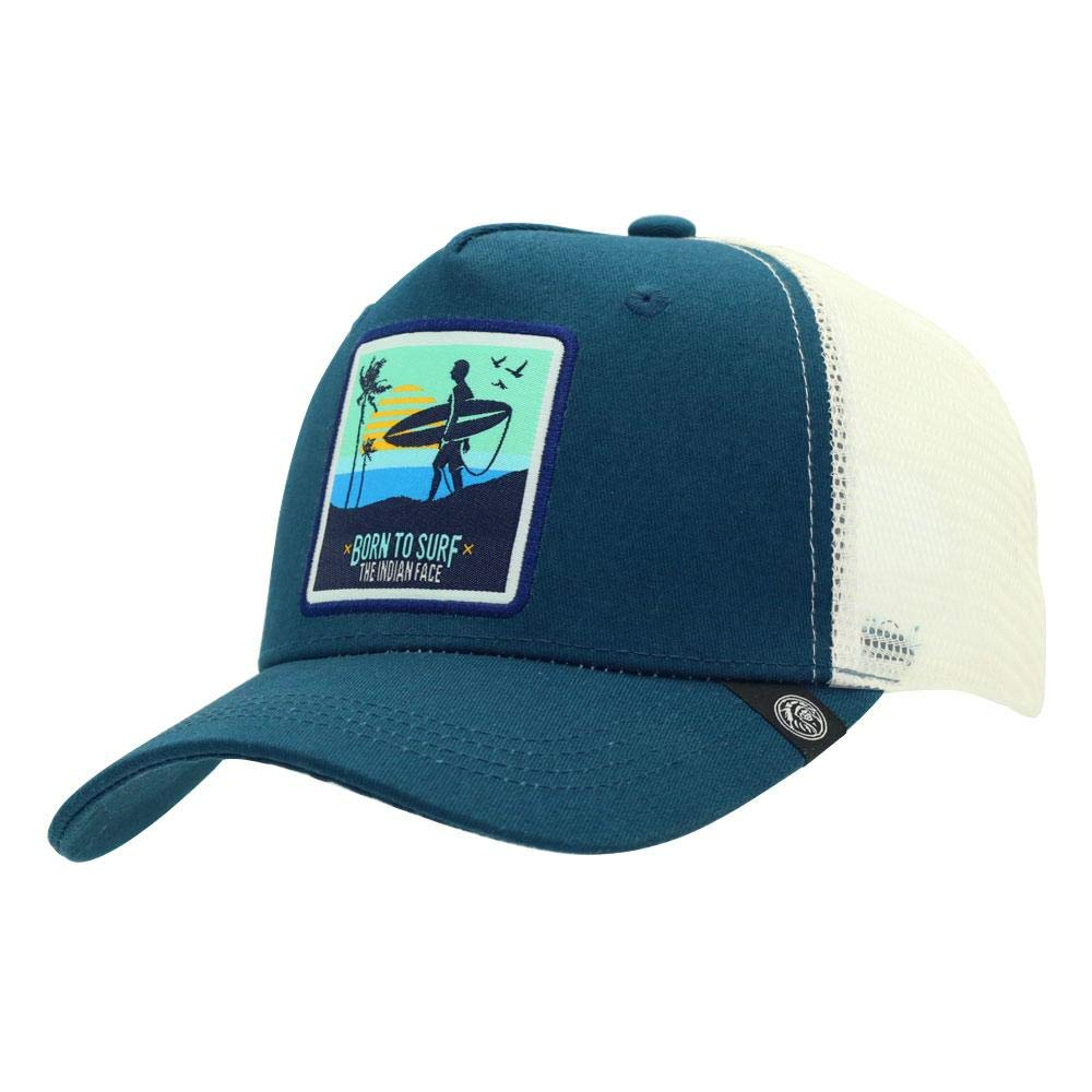 The Indian Face Born To Surf Gorra, Unisex Adulto: Amazon.es ...