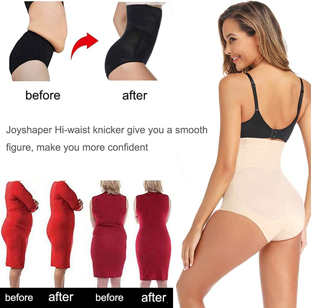 Joyshaper High Waisted Control Knickers Women Slimming Briefs Tummy Waist Cincher Girdle Trimmer Trainer