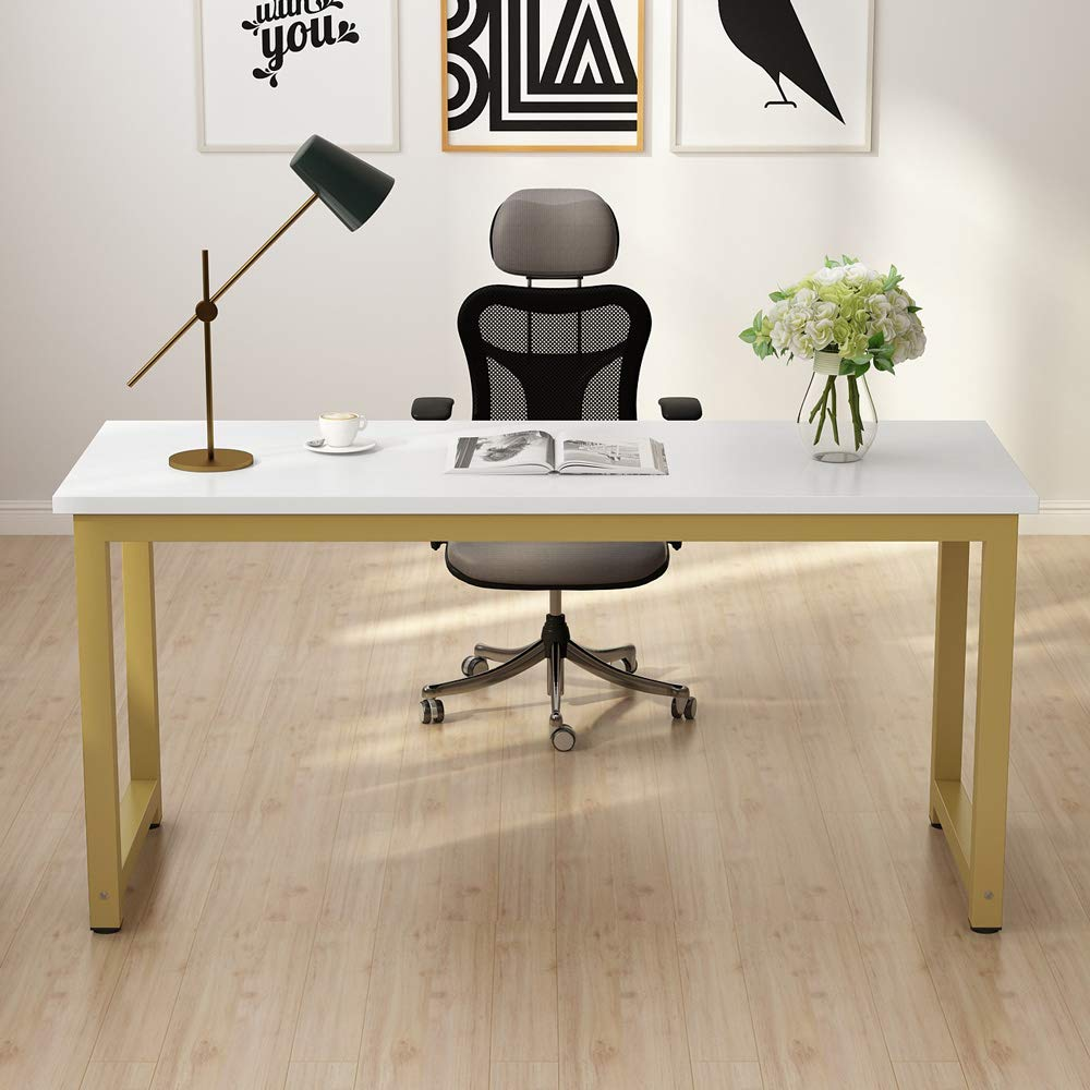 Tribesigns Modern Large Office Desk