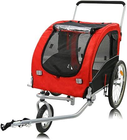 ZXDFG Remolque para Mascotas Multifunción Plegable Perro Bicicleta ...