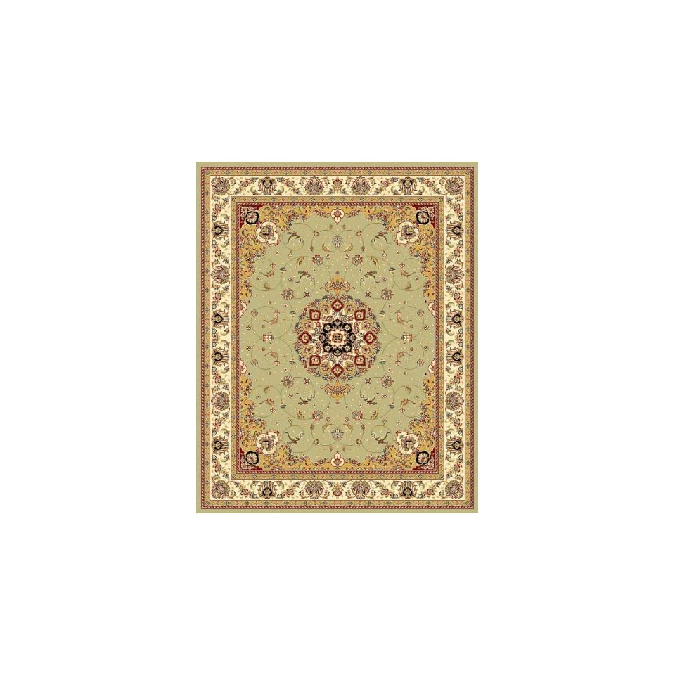 Safavieh Lyndhurst Collection LNH329B Traditional Medallion Sage and Ivory Runner (23 x 14)