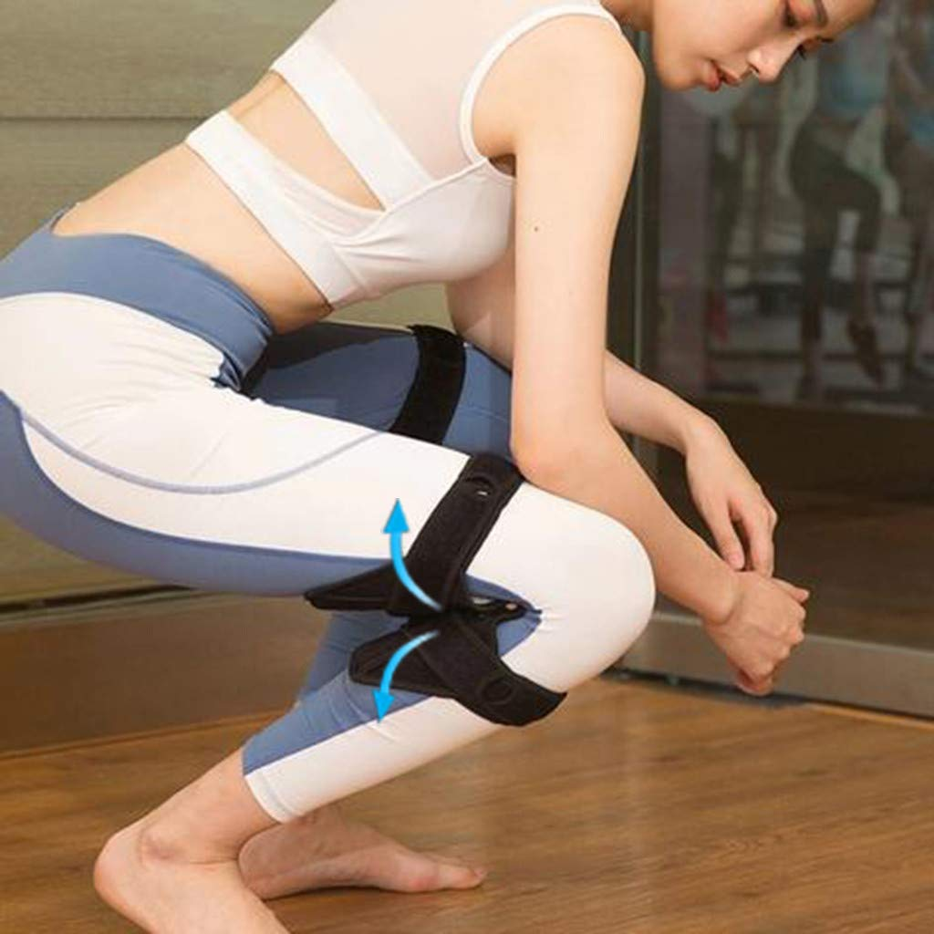 NszzJixo9 knee Protection Booster Joint Support Knee Pads Powerful Rebound Spring Force Self-heating Wristband Pads Powerful Rebound Spring Force by NszzJixo9 (Image #4)