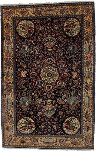 Sarouk Rugs Area Navy (Admin Rugs Mesmerizing One of a Kind Sarouk Persian Style Kork Wool Rug Oriental Area Carpet 4X7)