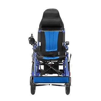 Silla de ruedas eléctrica, Scooter para Ancianos, Plegable ...