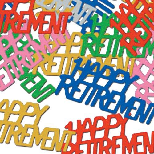 Happy Retirement Fanci Fetti multi color Accessory