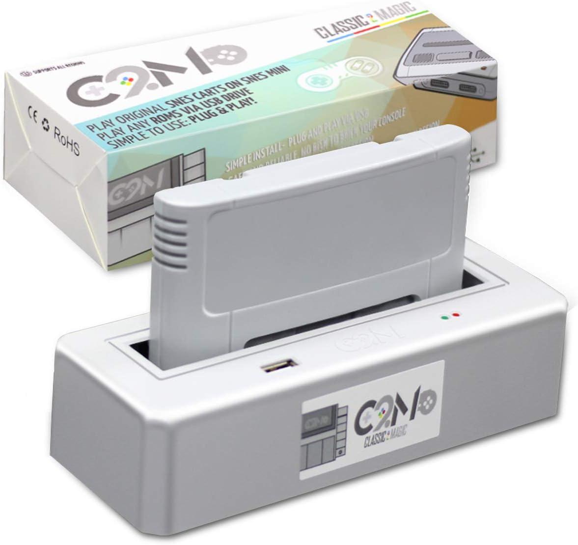 Amazon com: C2M -Classic 2 Magic Adapter for SNES Mini & NES MINI