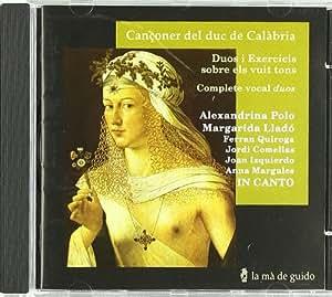 Cançoner Del Duc De Calabria