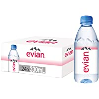 Evian 330 ml Bottled Water (Pack of 24)