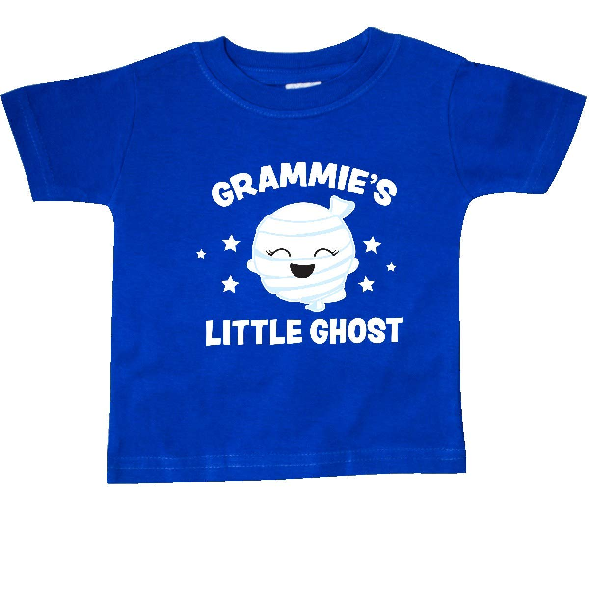 inktastic Cute Grammies Little Ghost with Stars Baby T-Shirt
