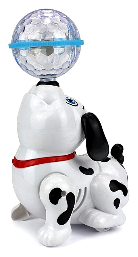 Toyshine Dancing Dog with Music Flashing Lights