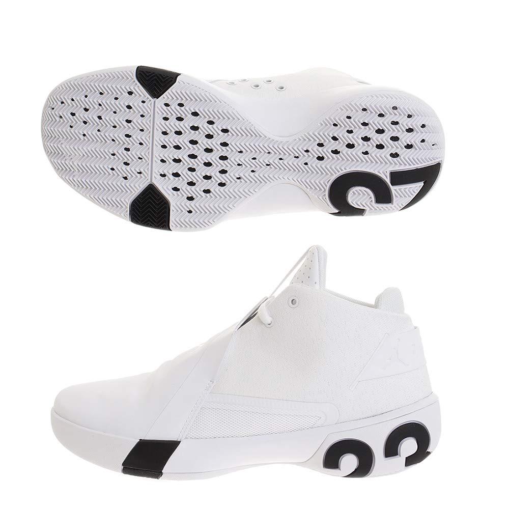 NIKE 3, Jordan Ultra Fly 3, NIKE Chaussures de Basketball Homme 47.5 EU Blanc (White/Black 100) 990fac