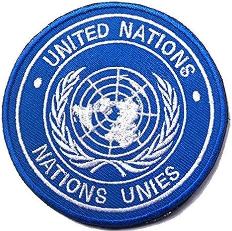OYSTERBOY Parche táctico Naciones Unidas: Amazon.es: Deportes y aire libre