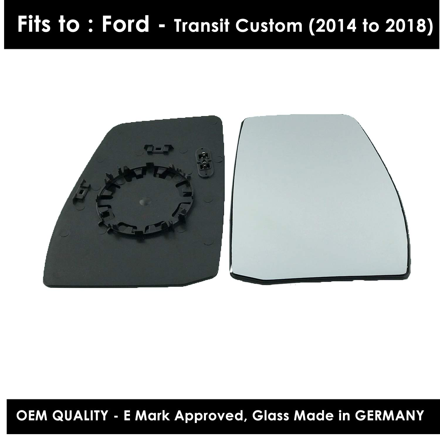 Heated Wing Mirror Glass Drivers Side(RH)