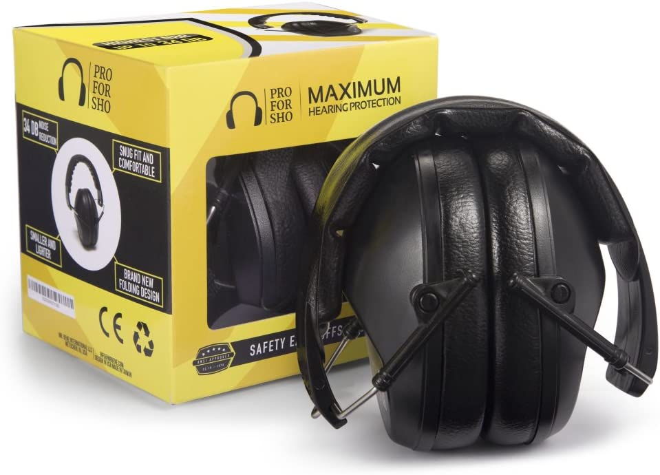 Pro For Sho Safety Ear Protection Earmuffs