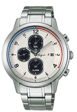 bf1bebefc8 Amazon | アニエス アニエスベー 時計 agnes b メンズ腕時計(FBRD971 ...