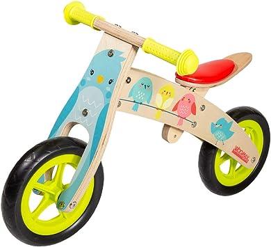 WOOMAX - Bici sin pedales en madera modelo Natura 10