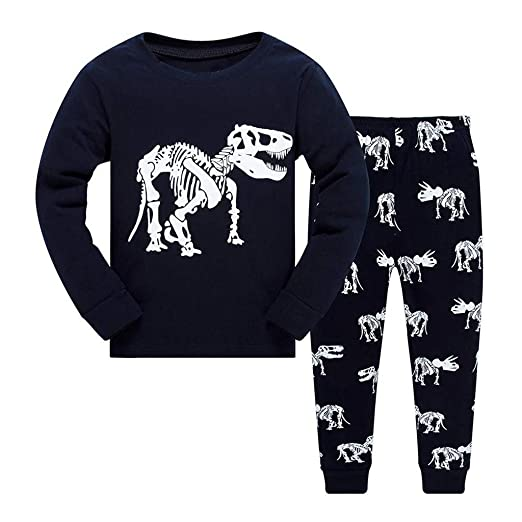 7fd6b4e4f Amazon.com  Kehen Toddler Boys Pajamas Children Spring Clothes Set ...