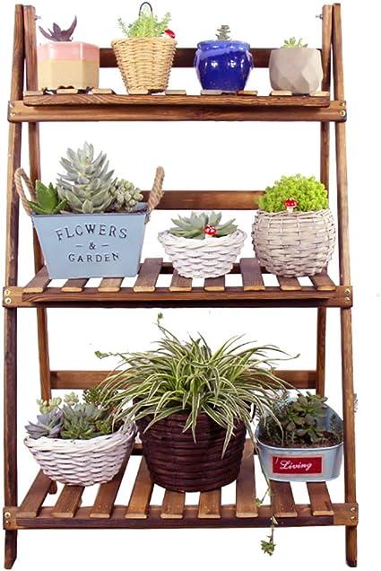 Chairs FL estantes para Plantas/estanteria Jardin Madera ...