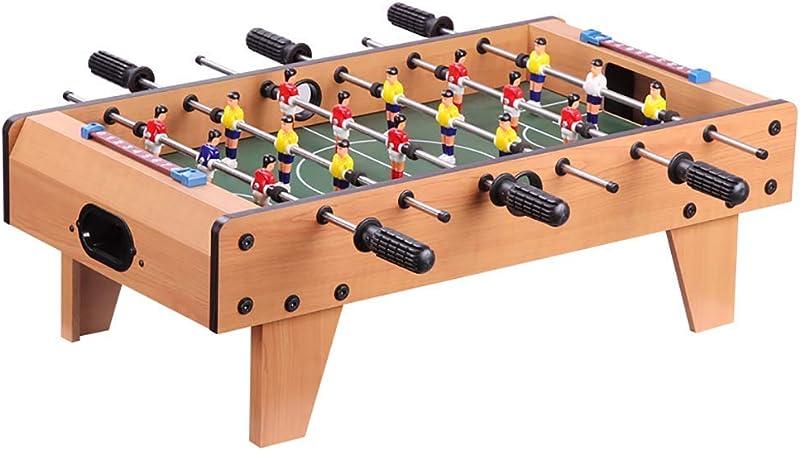 MJ-Games Juego de Mesa de futbolín y Mesa portátil de futbolín con Dos Pelotas y Marcador para Adultos y niños: Amazon.es: Hogar