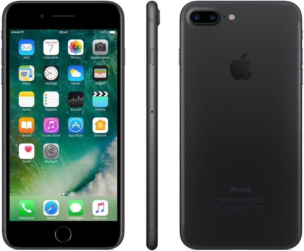 Apple iPhone 7 Plus 128GB Negro Mate (Reacondicionado): Amazon.es ...