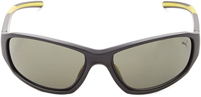93458a9637 Amazon.com  Puma Sunglasses 15165 Rectangular Sunglasses