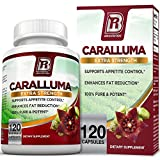 BRI Nutrition Caralluma Fimbriata - Natural Appetite Suppressant & Weight Loss Diet Pills - 1000mg, 60-Day, 120 Count Vegetarian Capsules