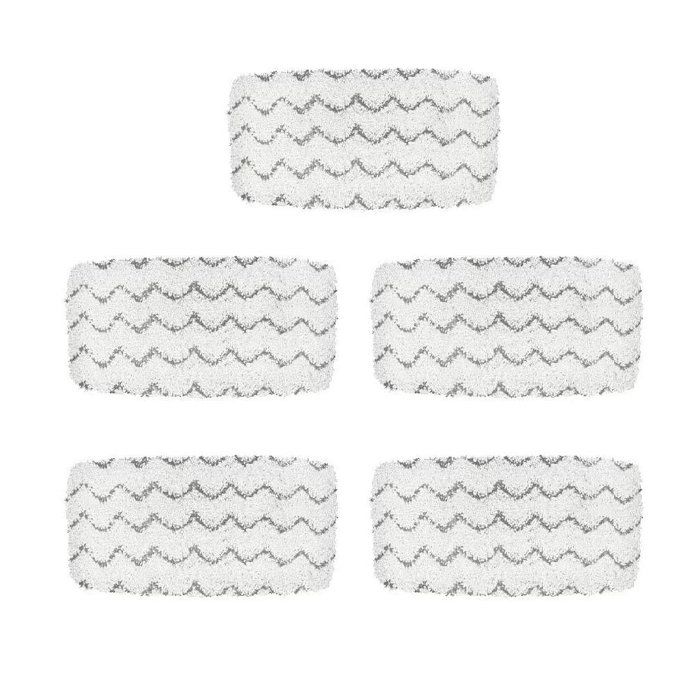 LAMASA 5 Pcs Replacement Refill Pads for Bissell Symphony Pet Steam Mop and Vacuum Cleaner 1252 1132 1543A Series
