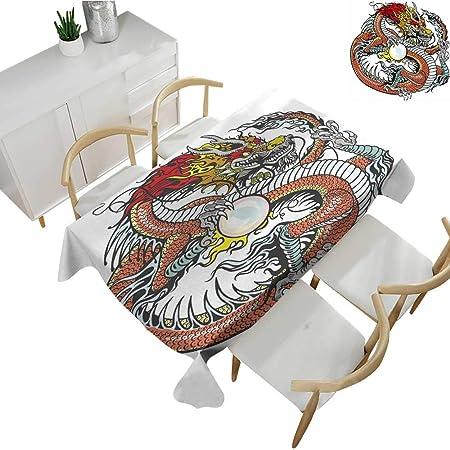 Mantel Lavable con diseño de dragón de la Familia, Tradicional ...