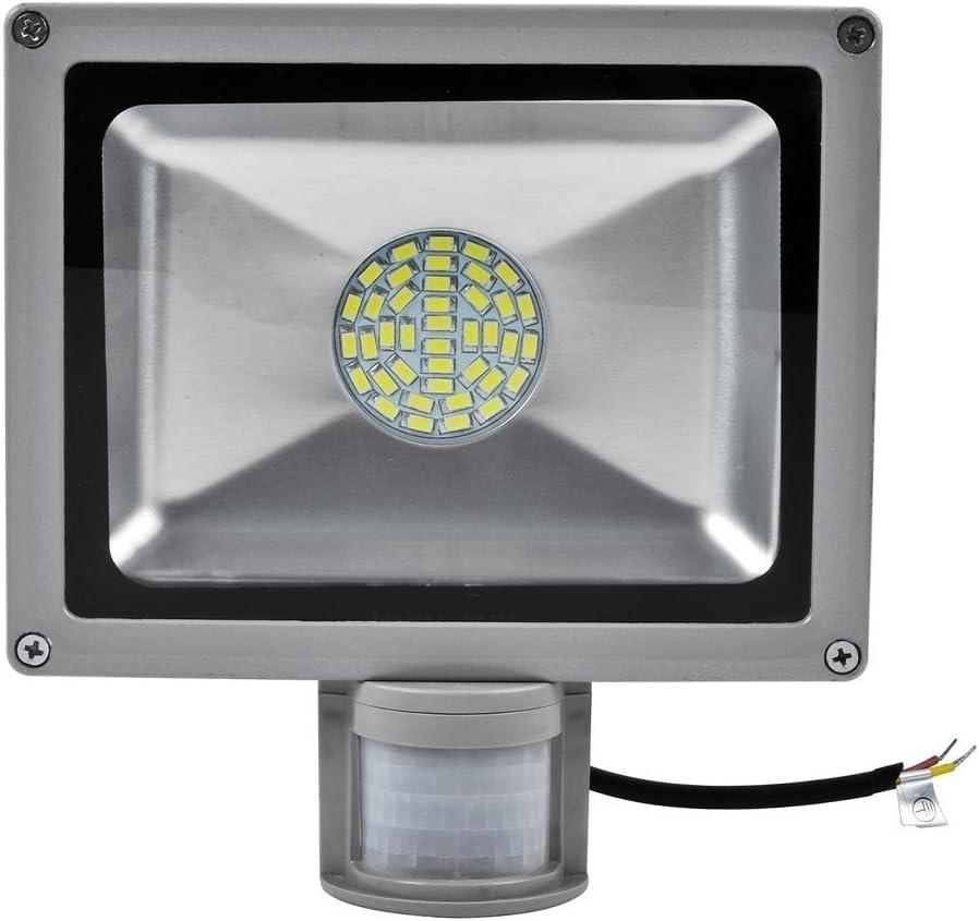 30W SMD Foco LED con Sensor Movimiento,Proyector LED Exterior ...