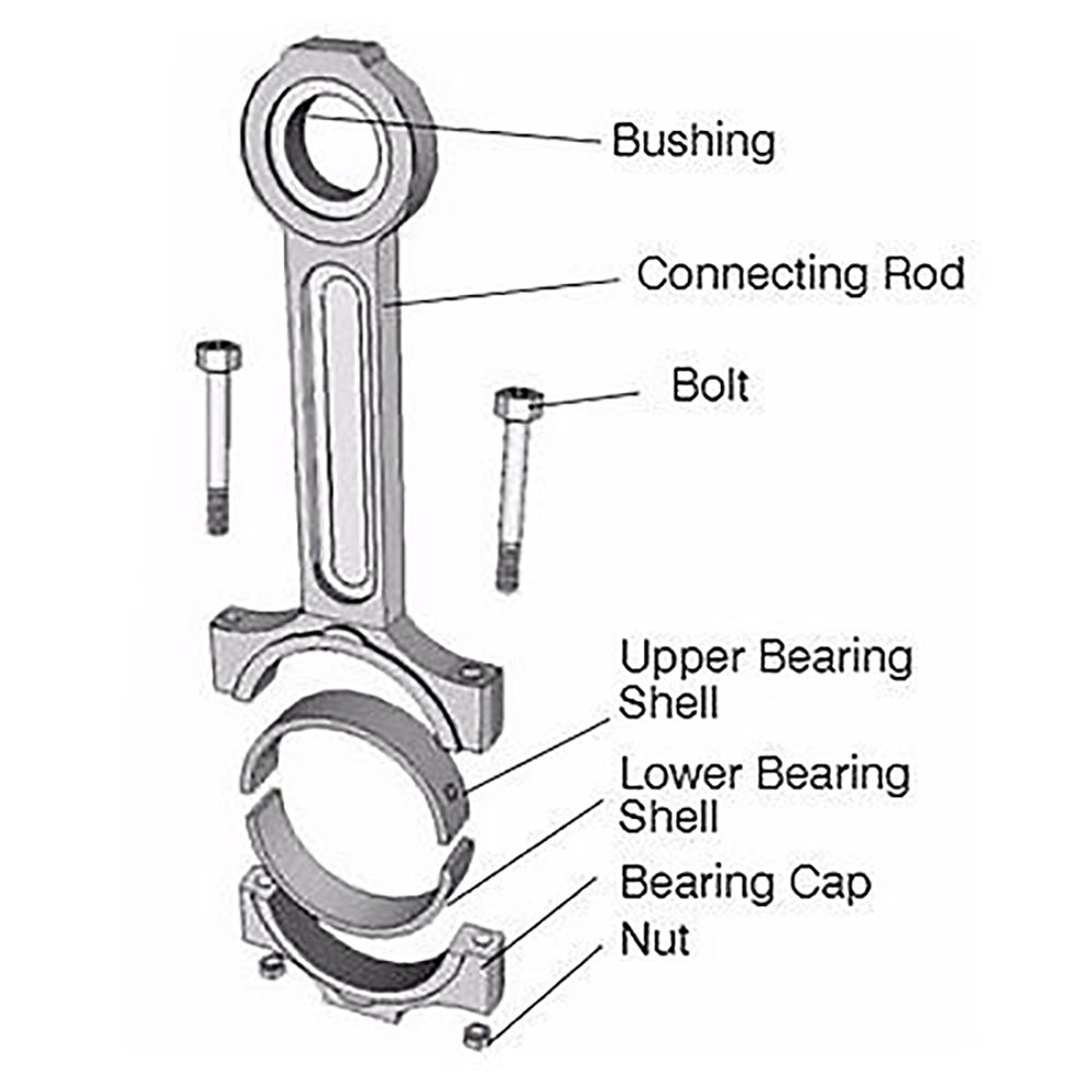 8n3753 New Caterpillar Cat Industrial Engine Connecting 3204 Diagram Rod A D3 910 D4h Scientific