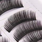 BOO1 - 10 paire faux cils volumineux naturel cil noir maquillage yeux eyelashes de BOOLAVARD