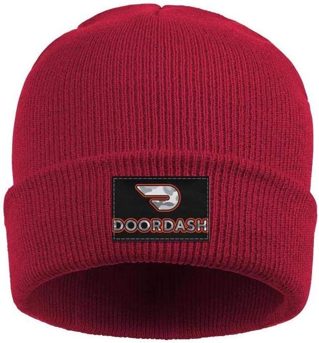 Women's Men Beanie Hats Doordash-Gray-Camouflage-apps-Like-doordash- Classic Ski Cap