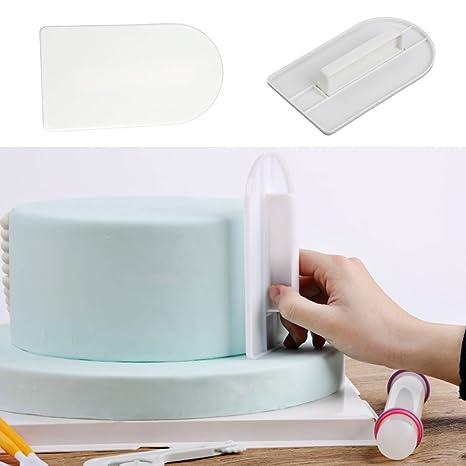 willsun 47pcs Set Decoración de Tartas Molde Decoración Fondant émbolo DIY moldes para glaseado para tartas